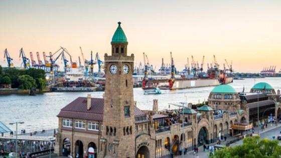 Hamburger Hafen und Fischmarkt