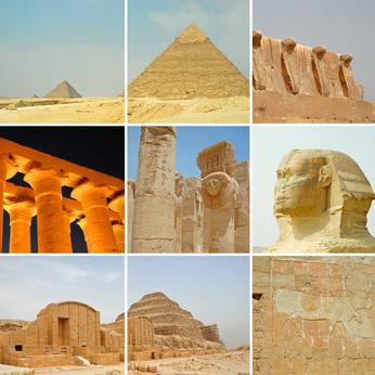 Tal der Könige in Ägypten