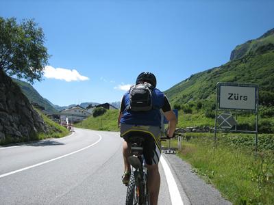Arlberg - Cycling im Sommerurlaub